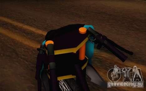 Fino Drag для GTA San Andreas вид справа