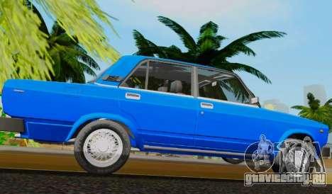 ВАЗ 2105 Riva для GTA San Andreas вид слева