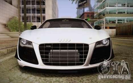 Audi R8 GT 2012 для GTA San Andreas вид сбоку