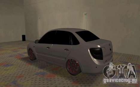 ВАЗ 2190 Гранта для GTA San Andreas вид справа