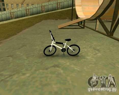 BMX из GTA Vice City Stories для GTA San Andreas вид сзади слева