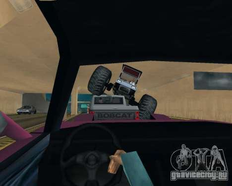 Caddy Monster Truck для GTA San Andreas вид сбоку