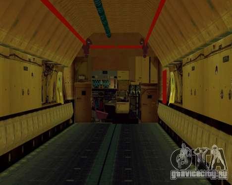 Ил-76Т АВИАСТ для GTA San Andreas вид сзади