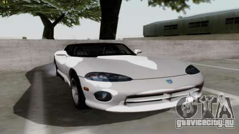 Dodge Viper RT-10 1992 для GTA San Andreas