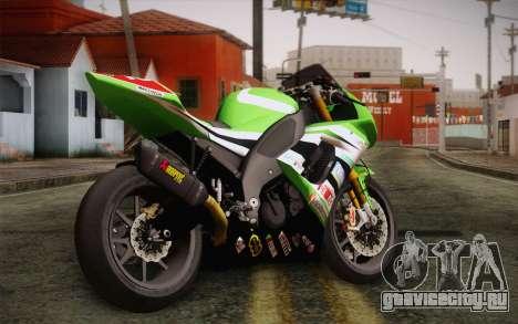 Kawasaki ZX-10R Ninja для GTA San Andreas вид слева