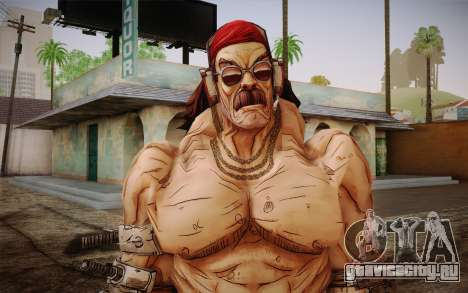 Mr. Torgue из Borderlands 2 для GTA San Andreas