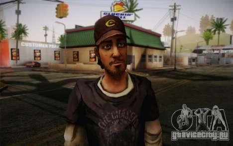 Nick из The Walking Dead для GTA San Andreas третий скриншот