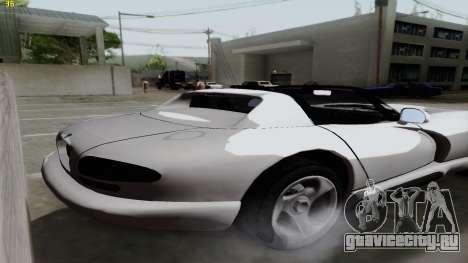 Dodge Viper RT-10 1992 для GTA San Andreas вид слева