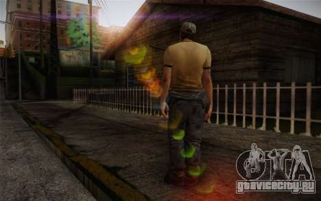 Ellis from Left 4 Dead 2 для GTA San Andreas второй скриншот