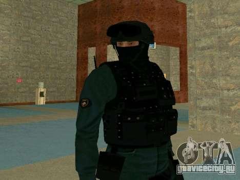 Скин СОБРа для GTA San Andreas третий скриншот