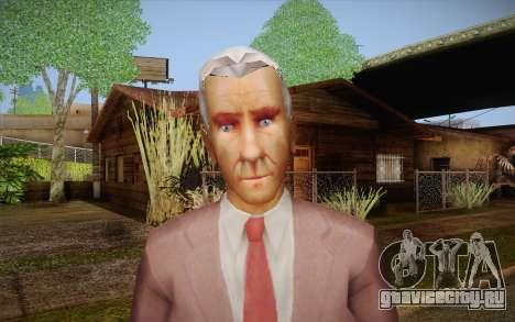 Leslie William Nielsen для GTA San Andreas третий скриншот