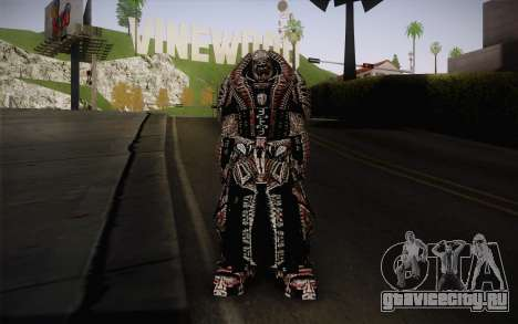 Theron Guard Cloth From Gears of War 3 v2 для GTA San Andreas