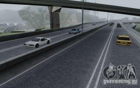HD Roads 2014 для GTA San Andreas пятый скриншот