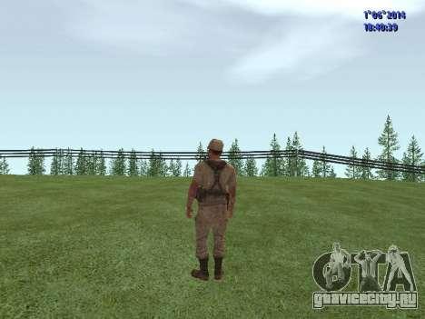 Afghanistan Soviet Soldiers для GTA San Andreas третий скриншот