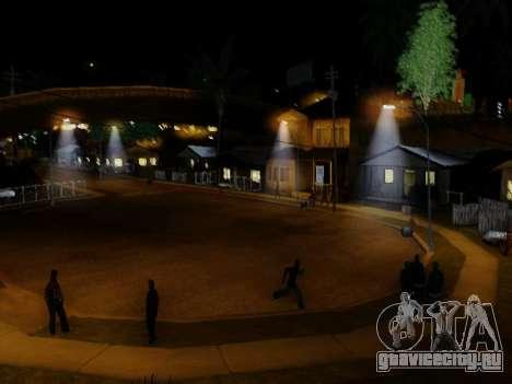 Improved Lamppost Lights v2 для GTA San Andreas четвёртый скриншот