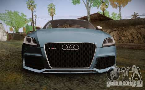 Audi TT RS 2011 для GTA San Andreas вид сзади