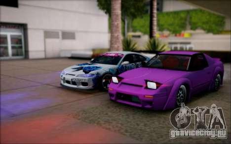 Nissan 240sx Rocket Bunny для GTA San Andreas вид слева