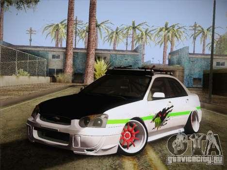 Subaru Impreza Hellaflush для GTA San Andreas