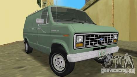 Ford E-150 1983 Short Version Commercial Van для GTA Vice City вид сзади
