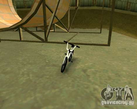 BMX из GTA Vice City Stories для GTA San Andreas вид слева