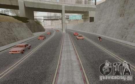 HD Roads 2014 для GTA San Andreas третий скриншот