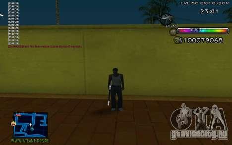C-HUD by Miks для GTA San Andreas