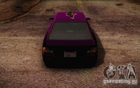 Sultan из GTA 5 для GTA San Andreas колёса