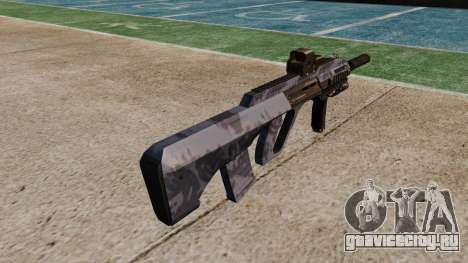 Автомат Steyr AUG-A3 Optic Blue Camo для GTA 4 второй скриншот