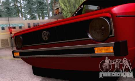 Volkswagen Golf Mk I 1978 для GTA San Andreas вид сверху
