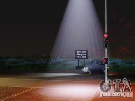 Improved Lamppost Lights v2 для GTA San Andreas