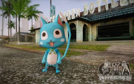 Happy from Fairy Tail для GTA San Andreas