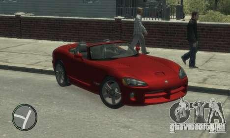 Dodge Viper SRT-10 2003 v2.0 для GTA 4