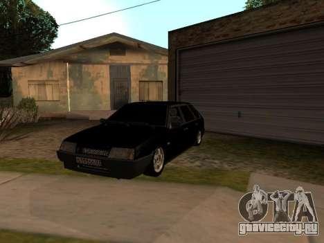 ВАЗ 2109 Бандитская девятка V 1.0 для GTA San Andreas вид сбоку