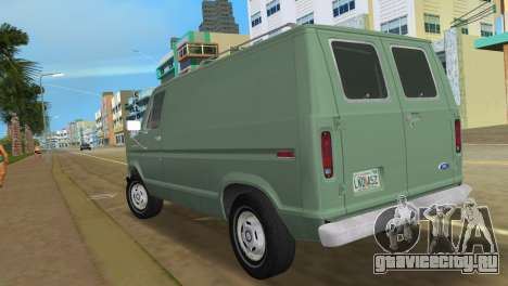 Ford E-150 1983 Short Version Commercial Van для GTA Vice City вид слева