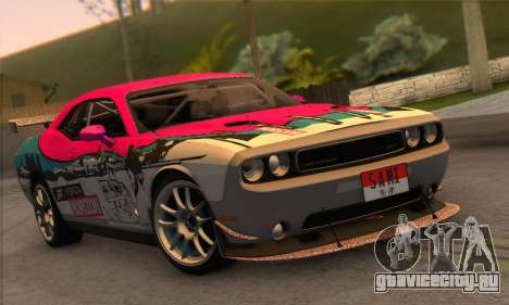 Dodge Challenger SRT8 2012 для GTA San Andreas