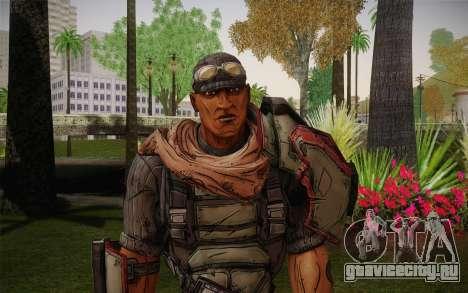 Roland из Borderlands 2 для GTA San Andreas третий скриншот