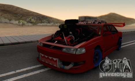 New Sultan для GTA San Andreas вид слева