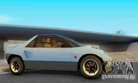 Mazda Autozam AZ-1 для GTA San Andreas вид сзади слева