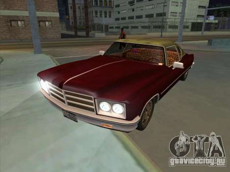 Yardie Lobo from GTA 3 для GTA San Andreas вид сзади слева