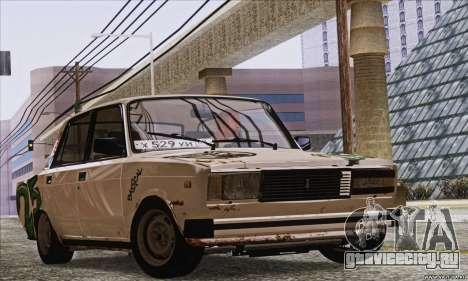 ВАЗ 2107 GVR для GTA San Andreas