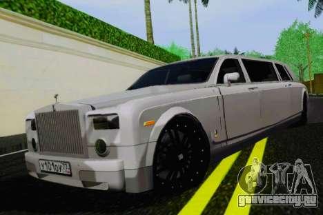 Rolls-Royce Phantom Limo для GTA San Andreas