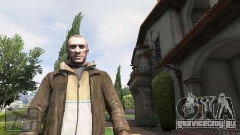 Нико Беллик для GTA 5 второй скриншот