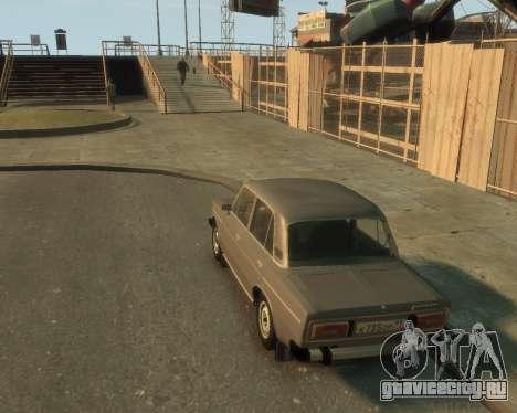 ВАЗ 2106 для GTA 4 вид сзади слева