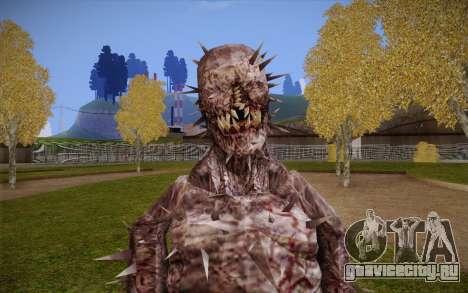 Iron Maiden from Resident Evil 4 для GTA San Andreas третий скриншот