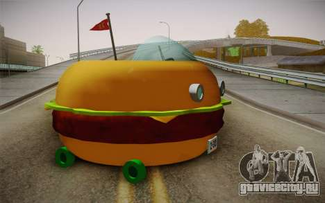 Spongebobs Burger Mobile для GTA San Andreas