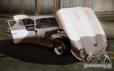Jaguar E-Type 4.2 для GTA San Andreas вид сбоку