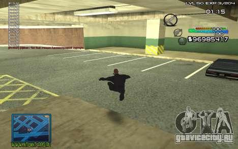 С-HUD by SteelMan для GTA San Andreas