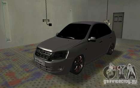 ВАЗ 2190 Гранта для GTA San Andreas вид слева