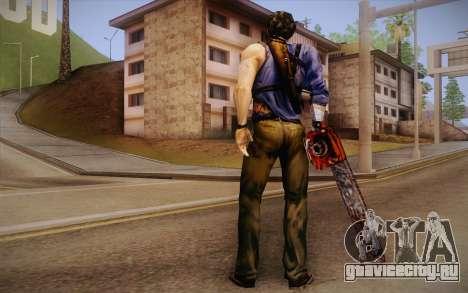 Ash Williams из Evil Dead Regeneration для GTA San Andreas второй скриншот