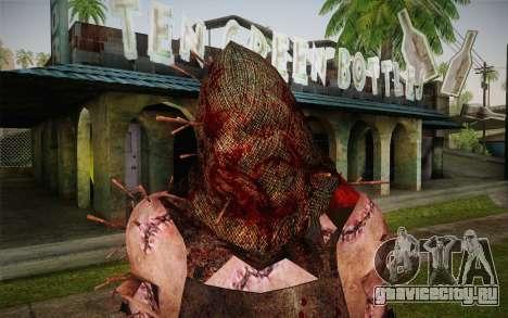 Палач (Resident Evil 5) для GTA San Andreas третий скриншот